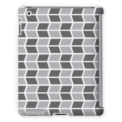 Parallelogram Pattern Case (Gray)