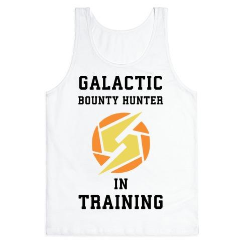 Galatic Bounty Hunter In Training Tank Top
