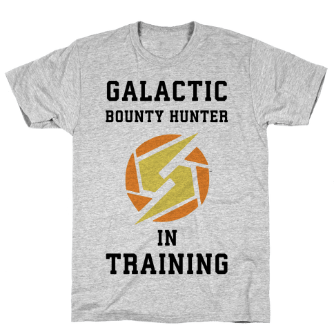 Galatic Bounty Hunter In Training Mens T-Shirt