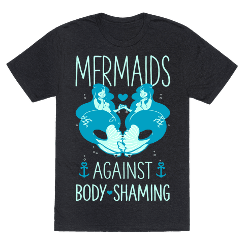 Mermaids Against Body Shaming