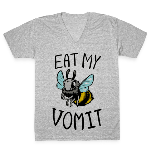 Eat My Vomit V-Neck Tee Shirt