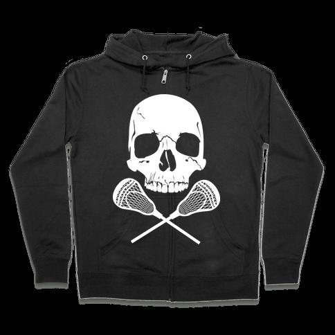 Lacrosse Bones Zip Hoodie