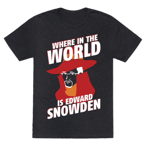Where In The World Is Edward Snowden