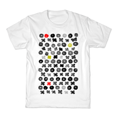 XOXO Hugs and Kisses Pattern Kids T-Shirt