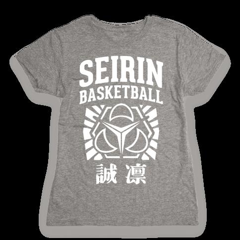Seirin Basketball Club Womens T-Shirt