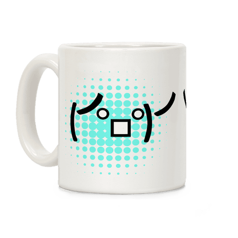 Table Flip Emoji Coffee Mug