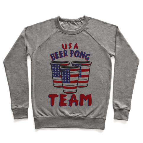 USA Beer Pong Team Pullover