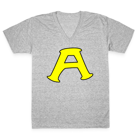 Ace (Gay Duo Couple) V-Neck Tee Shirt
