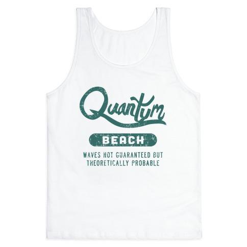 Quantum Beach - Waves Probable Tank Top