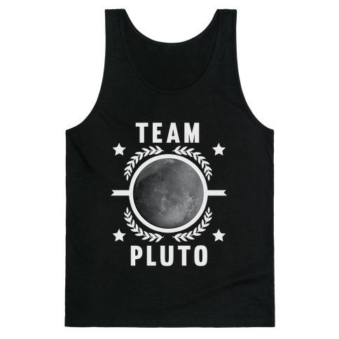 Team Pluto Tank Top