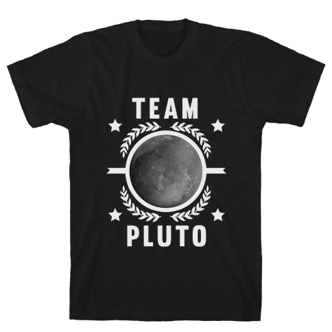 Team Pluto Mens T-Shirt