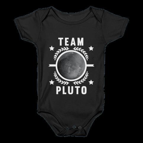 Team Pluto Baby Onesy