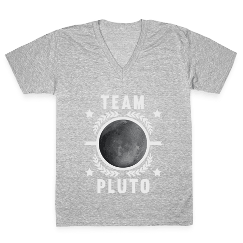 Team Pluto V-Neck Tee Shirt