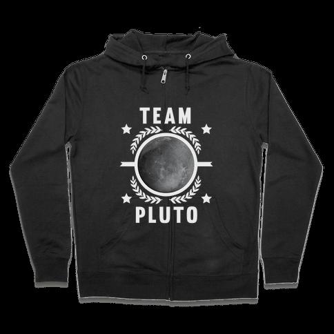 Team Pluto Zip Hoodie