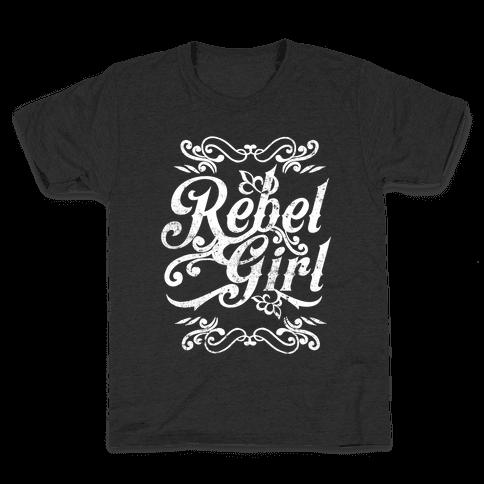 Rebel Girl Kids T-Shirt