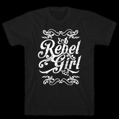 Rebel Girl Mens/Unisex T-Shirt