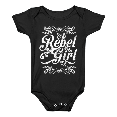Rebel Girl Baby Onesy