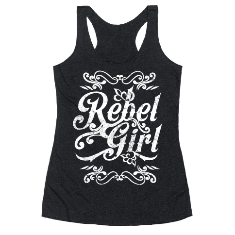 Rebel Girl Racerback Tank Top