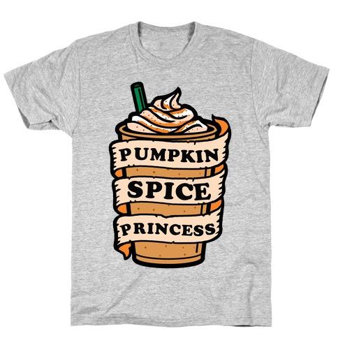 Pumpkin Spice Princess T-Shirt