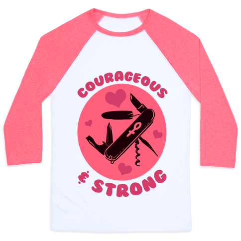 Human Courageous Amp Strong Clothing Baseball