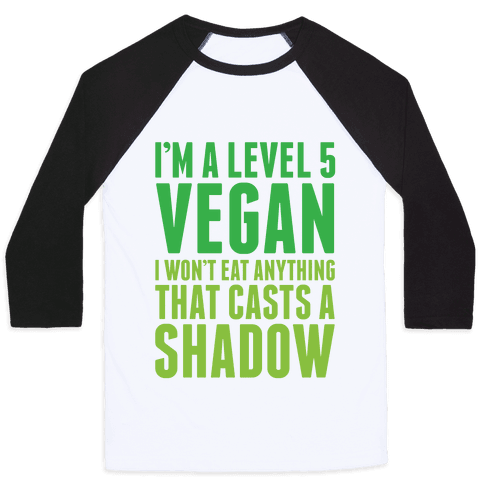 Level 5 Vegan Baseball Tee