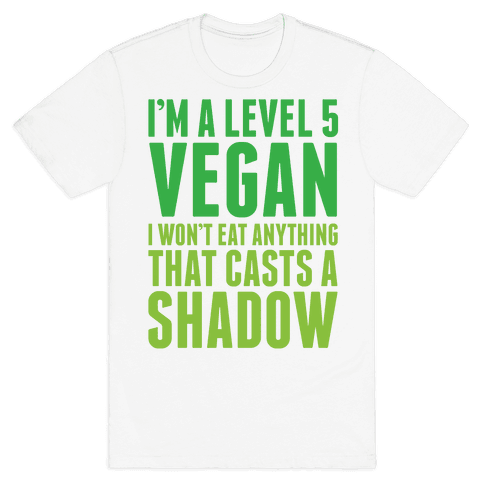 Level 5 Vegan Mens T-Shirt