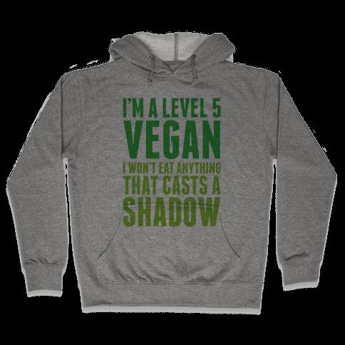 Level 5 Vegan Hooded Sweatshirt