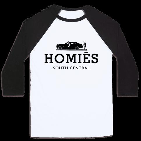 Homies Baseball Tee
