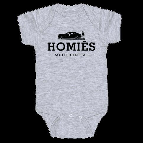 Homies Baby Onesy