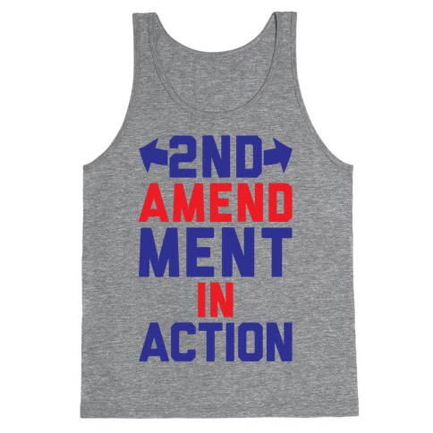 2nd Amendment In Action Tank Top