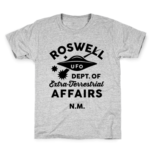 Roswell Department Of Extra-Terrestrial Affairs Kids T-Shirt