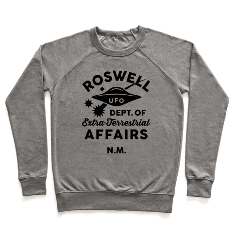 Roswell Department Of Extra-Terrestrial Affairs Pullover