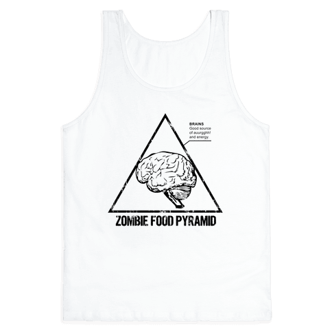 Zombie Food Pyramid Tank Top