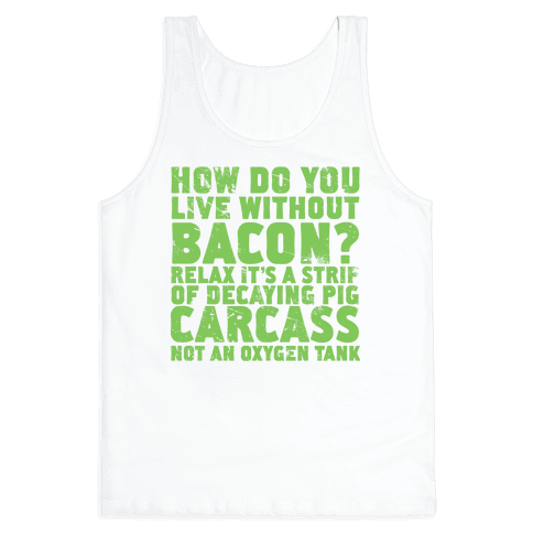 Dumb Questions Vegetarians Get Asked Tank Top