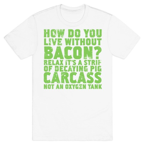 Dumb Questions Vegetarians Get Asked T-Shirt