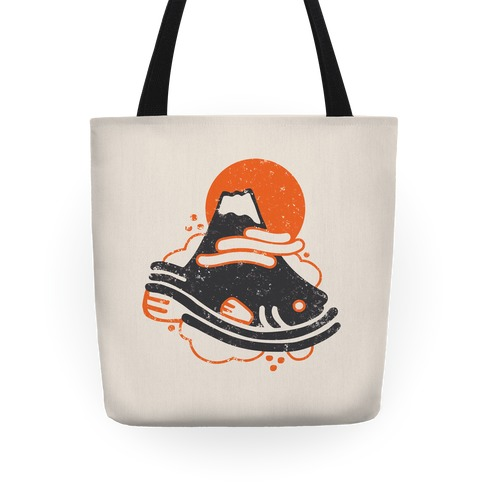 Mount Fuji Fish Tote
