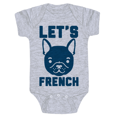 Let's French Baby Onesy