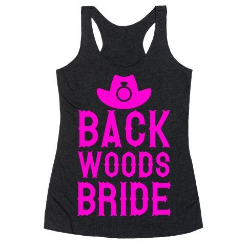 Backwoods Bride Racerback Tank Top