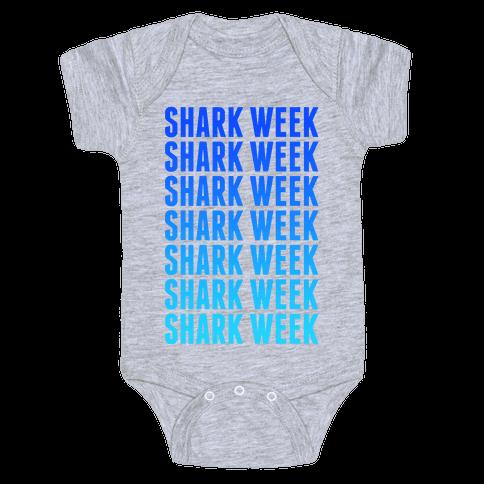 Shark Week Baby Onesy