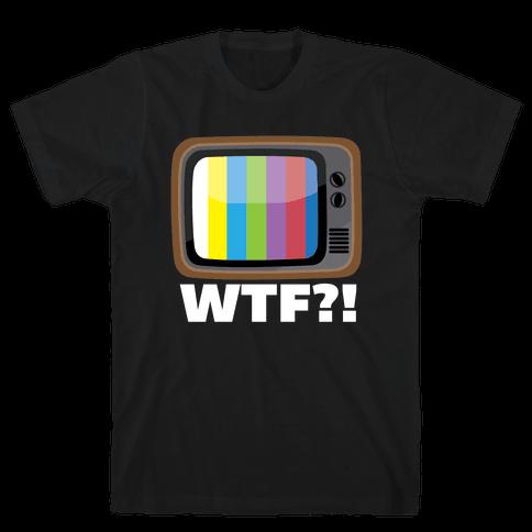 WTF?! Mens T-Shirt