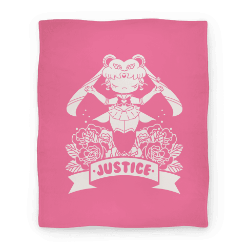 Champion of Love and Justice Blanket Blanket