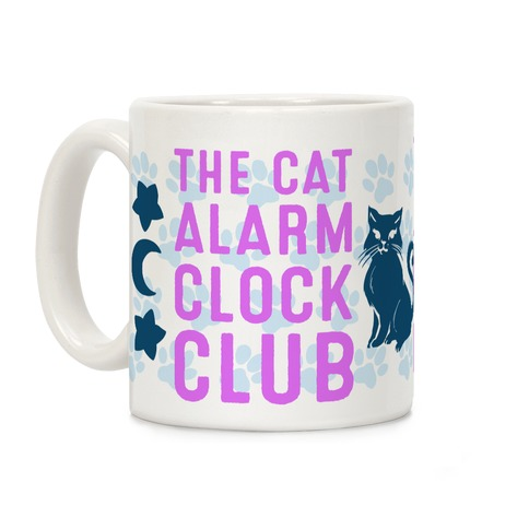 The Cat Alarm Clock Club Coffee Mug