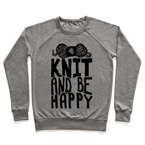 Knit And Be Happy Pullover