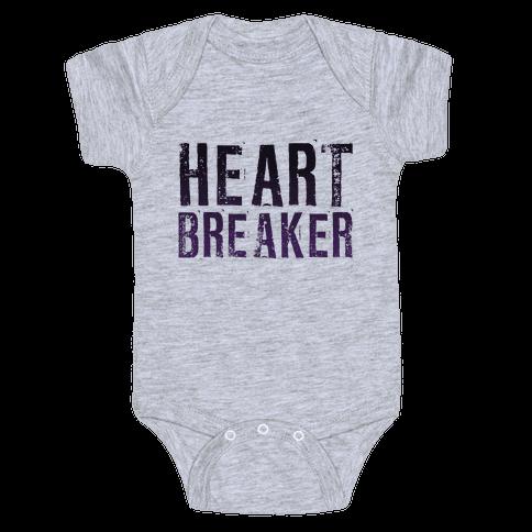 Heart Breaker Baby Onesy
