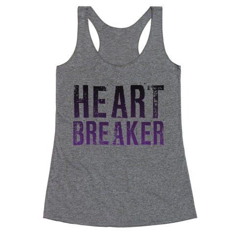 Heart Breaker Racerback Tank Top