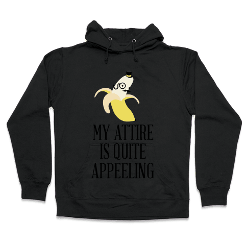 Quite Appeeling Hooded Sweatshirt