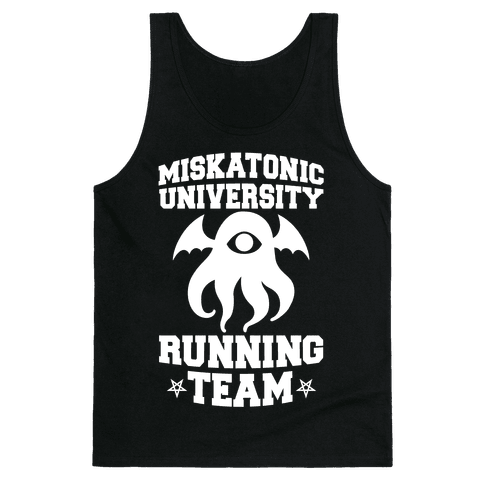 Miskatonic University Running Team Tank Top