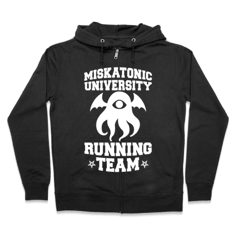Miskatonic University Running Team Zip Hoodie