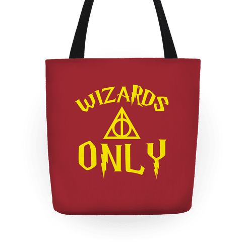 Wizards Only Tote