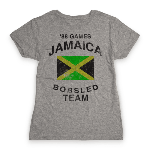 Jamaica Bobsled Team (Vintage Tank) Womens T-Shirt
